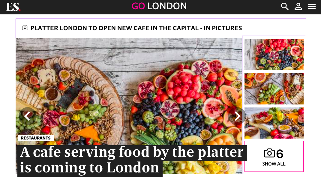 Platter London -