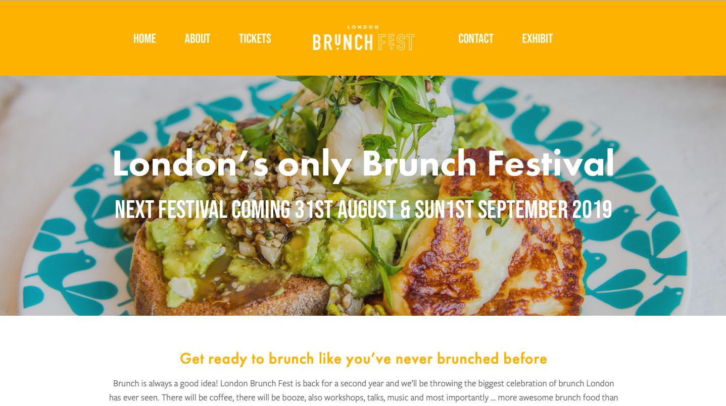 London Brunch Festival -