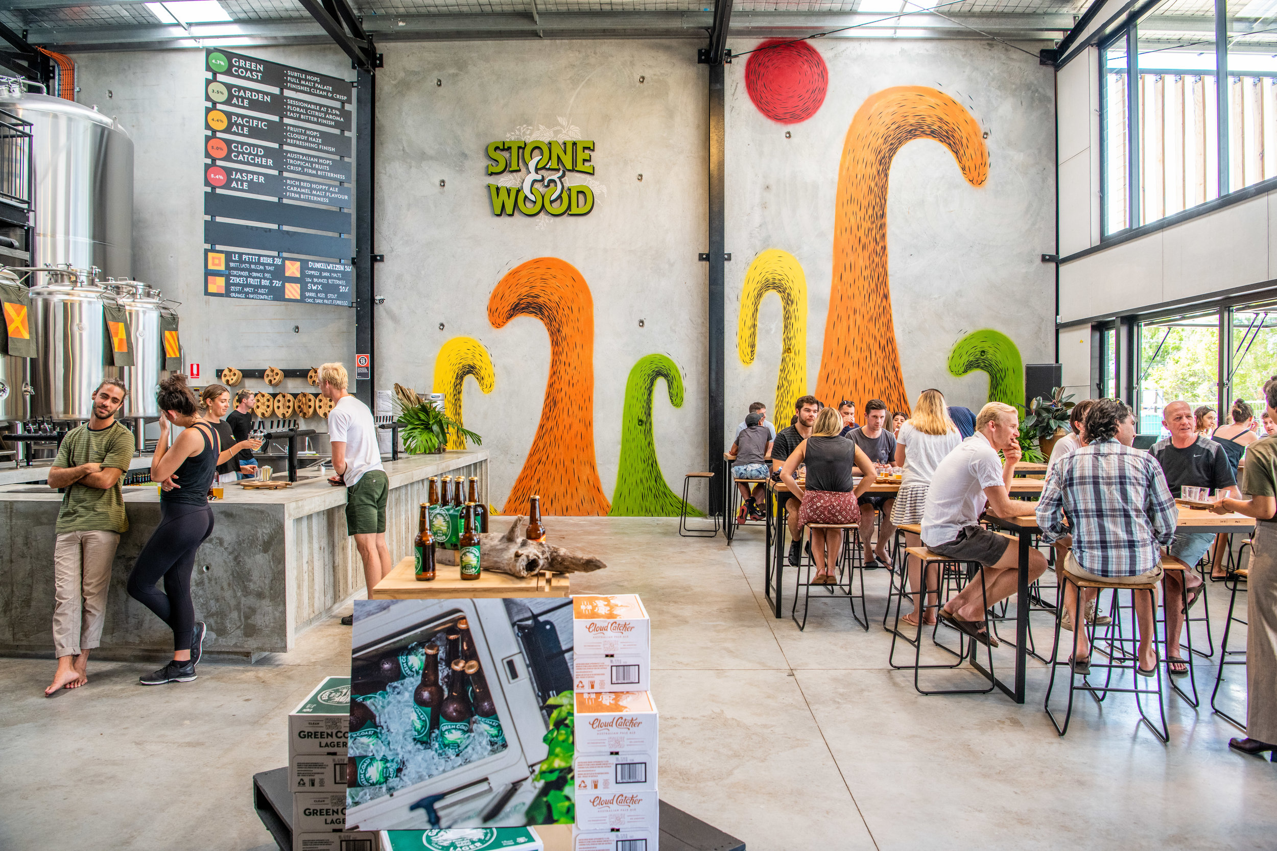 Stone and Wood Brewery - Byron Bay