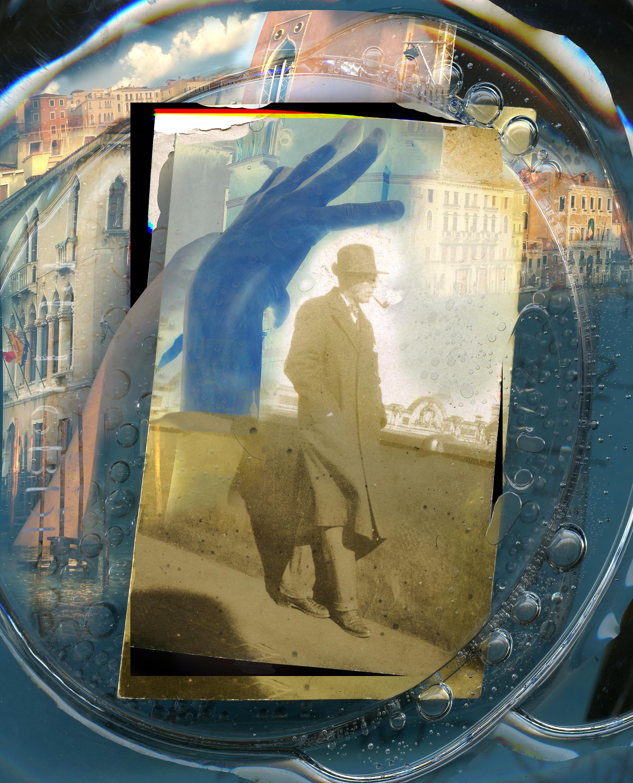 "Laura Dodson. ""Serene Republic"" 2017. Archival Pigment Print from the series  Nostalgia"