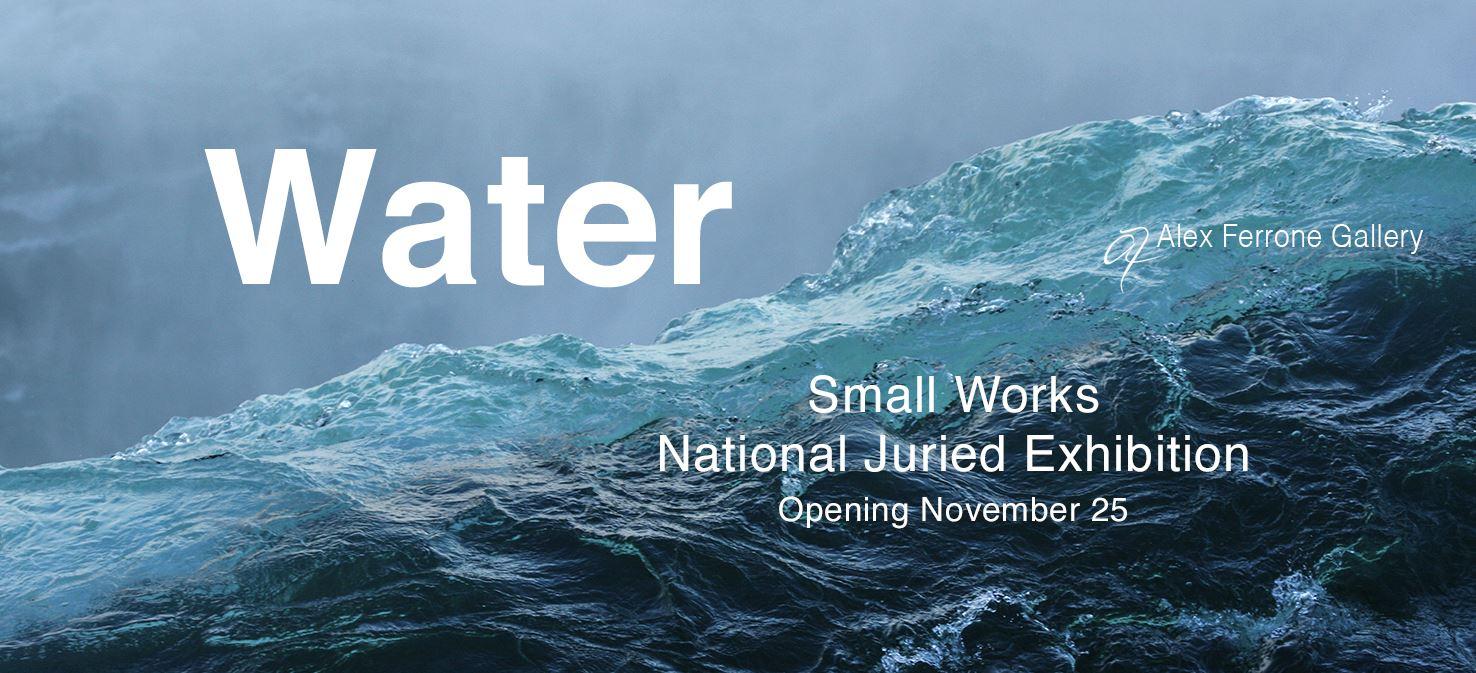 Water Exhibit Alex Ferrone Gallery