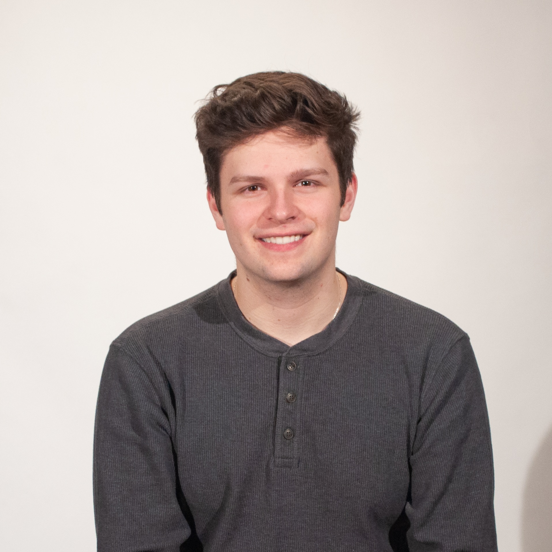 Hunter Elmore / Growth Coordinator   Hunter is a 3rd year Industrial Design student from Cincinnati, Ohio. He is a part of Design in Mind, because he wants to play a part in the education and inspiration of future designers and students.