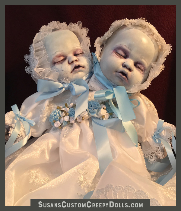 """Deceased Conjoined Twins""   $575 plus shipping."