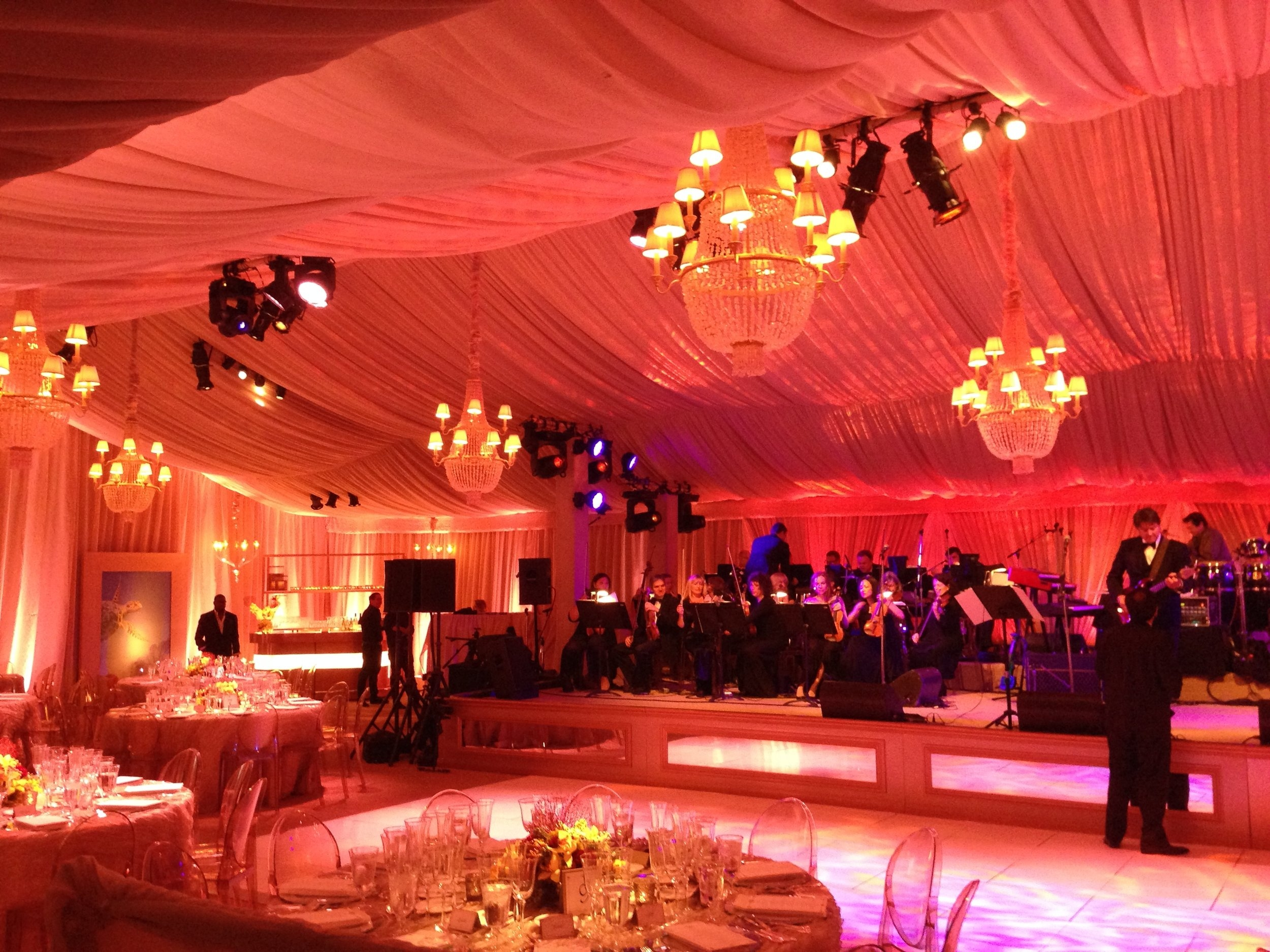 3 Phase Global Interior Event Lighting 1