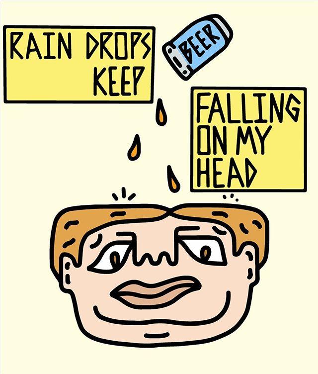 ...they keep fallin'