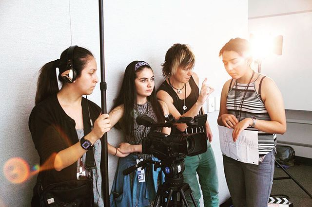 Our free summer program equips you with the resources you need to excel at filmmaking. Find out more @ Film2Future! Link in bio. Deadline to apply is May 1st. #Film2Future #Filmmaking #LA #Film