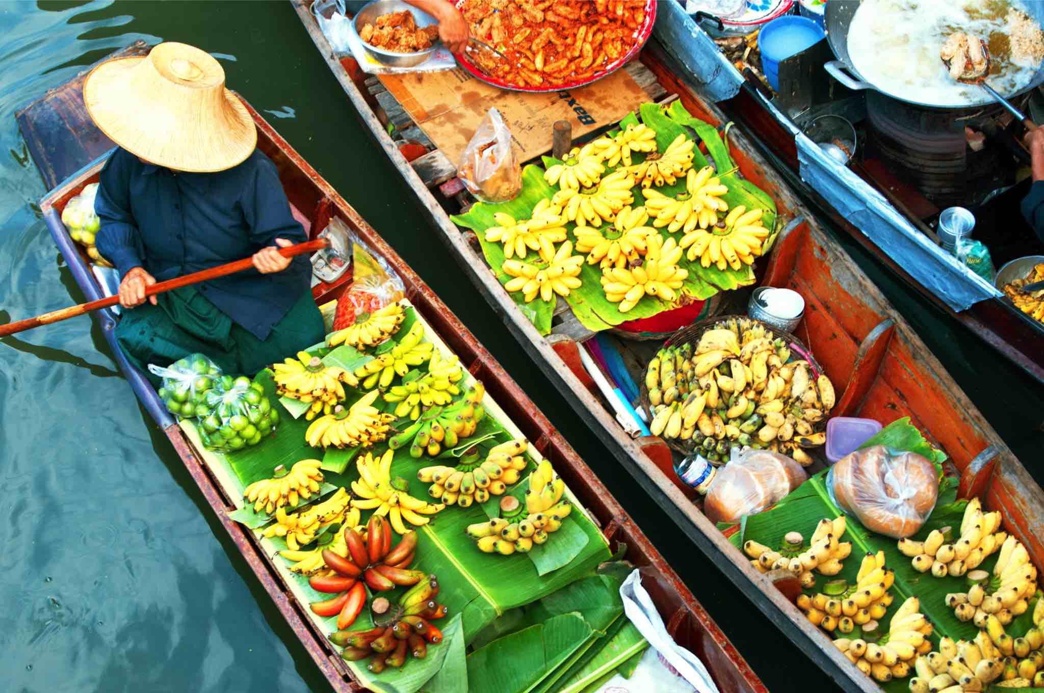 Visit Bangkok Floating Market