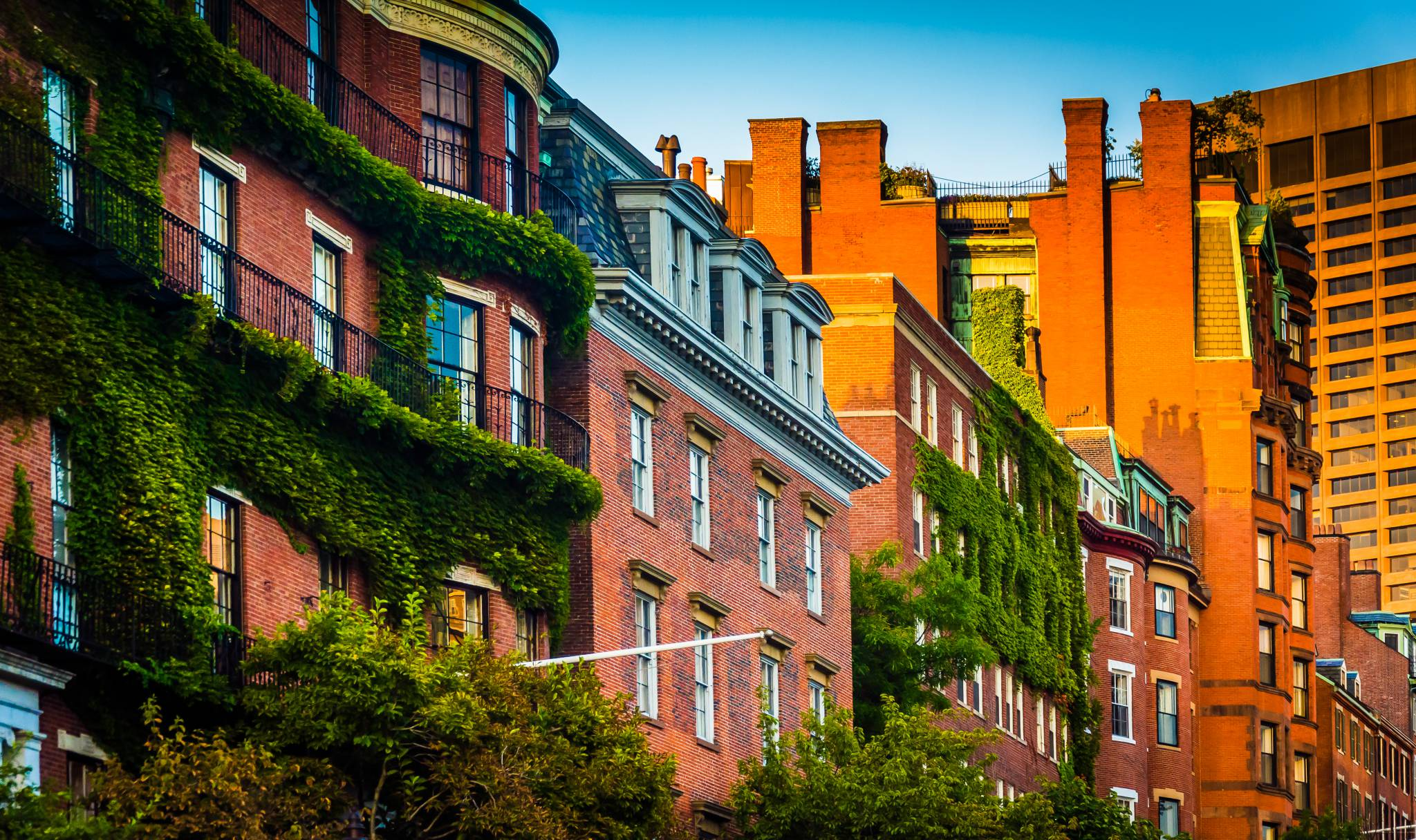 Beautiful Boston neighborhood, Beacon Hill