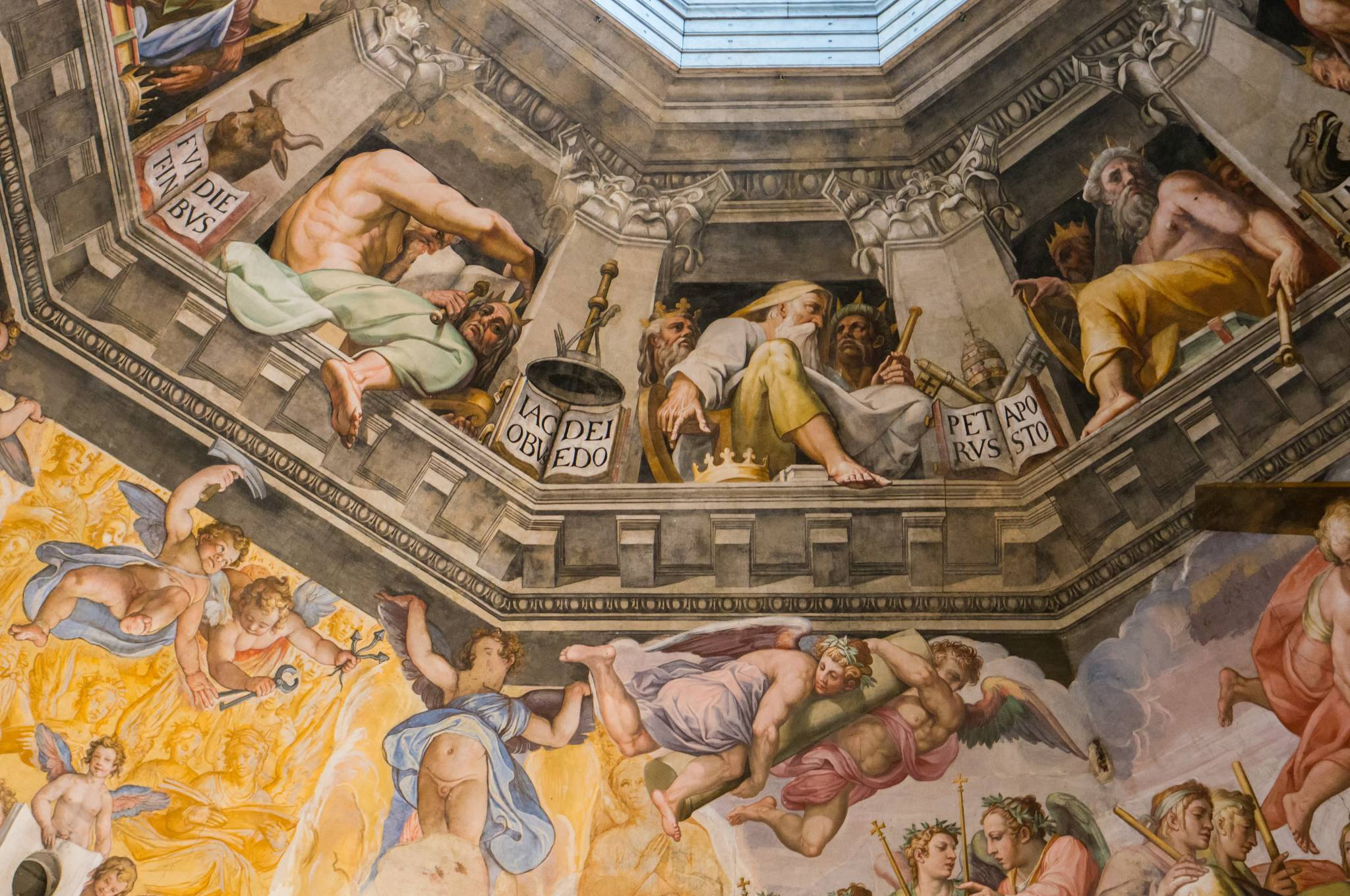 OMG! Florence Duomo ceiling!