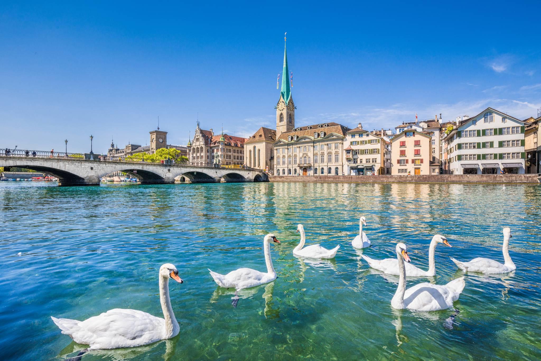 Sit back and enjoy Zurich lake view