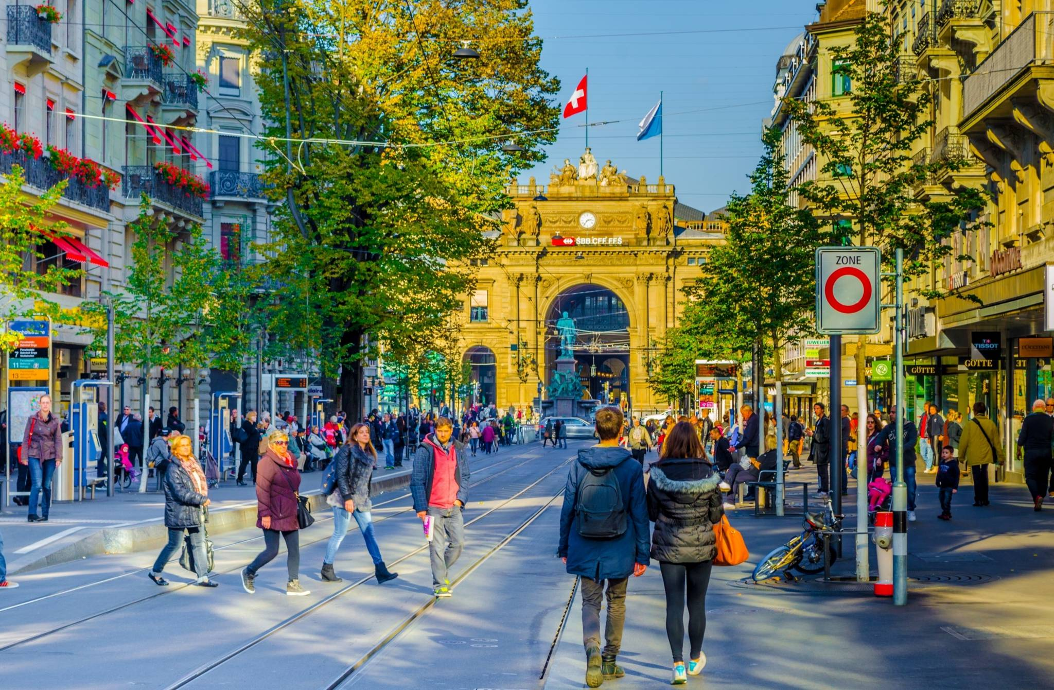 The best shopping experience in Zurich