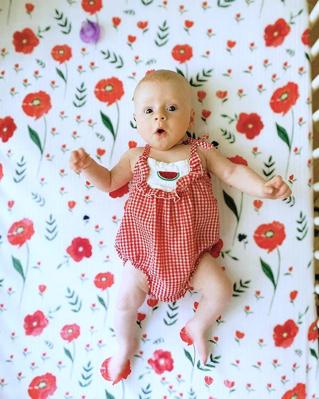 Sweet little girl ❤️🍉