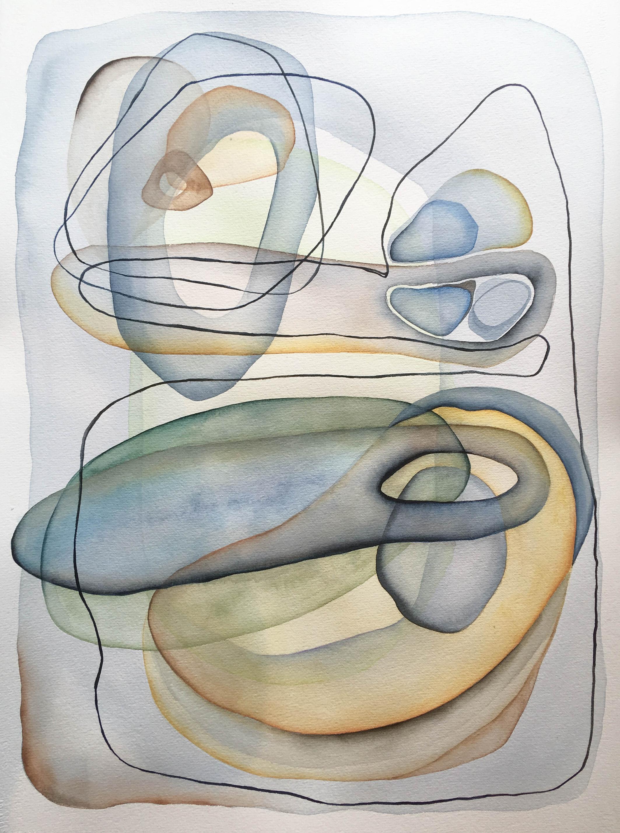 Meditations: Floating Pieman [sold]