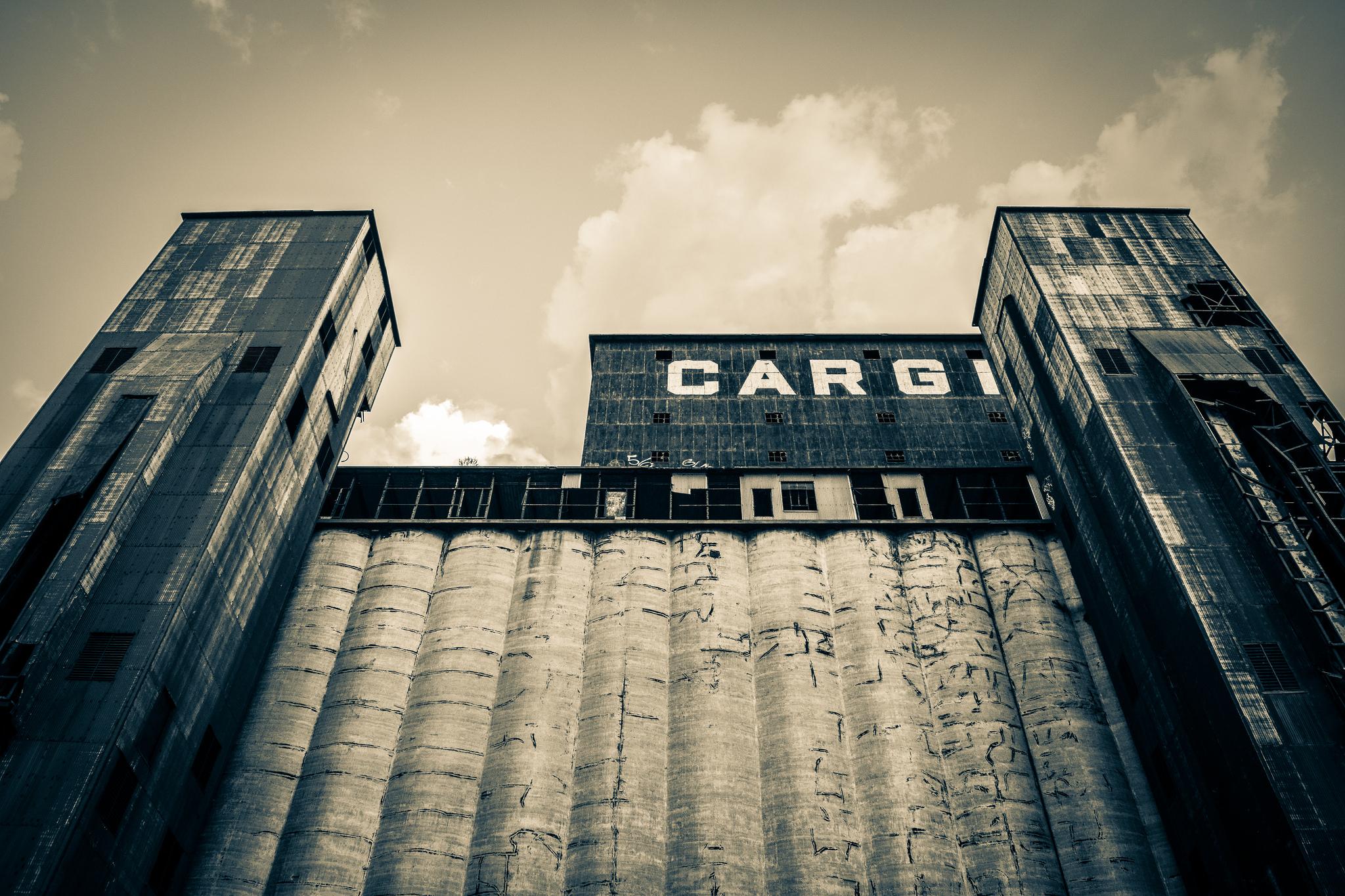 Grain elevator or Buffalo castle?