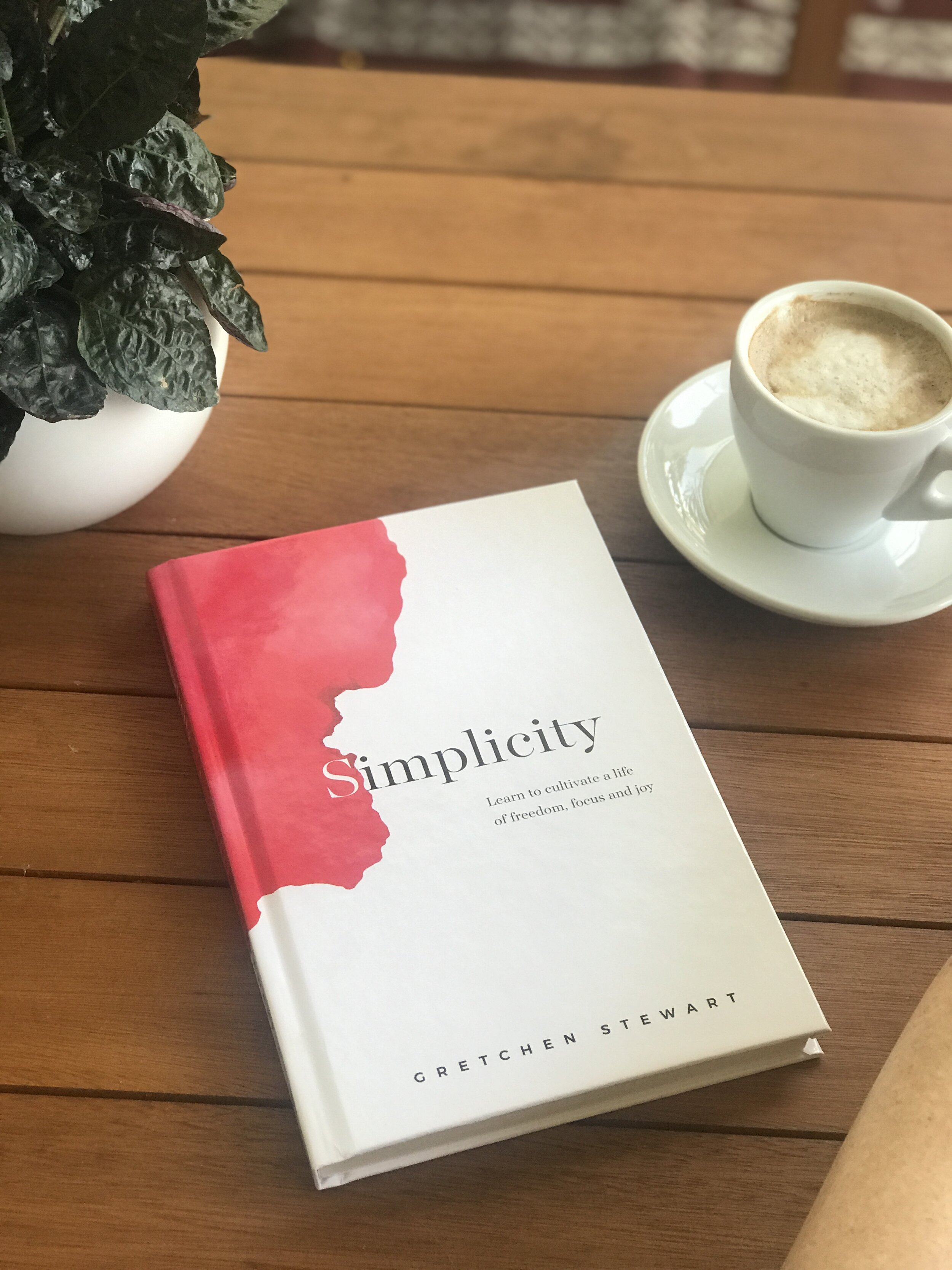 Read my bestselling book Simplicity - Simplicity: Learn to cultivate a life of freedom, focus and joy