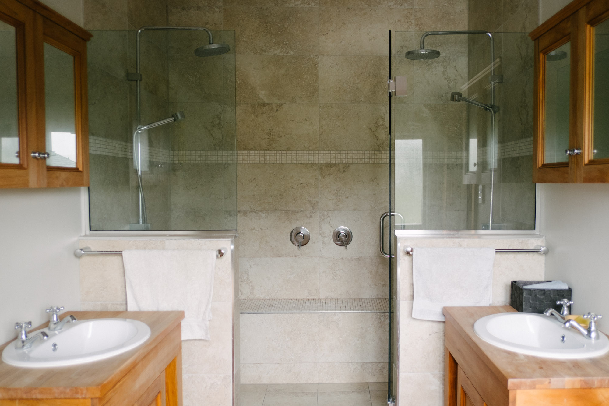Amazing bathroom for group accommodation