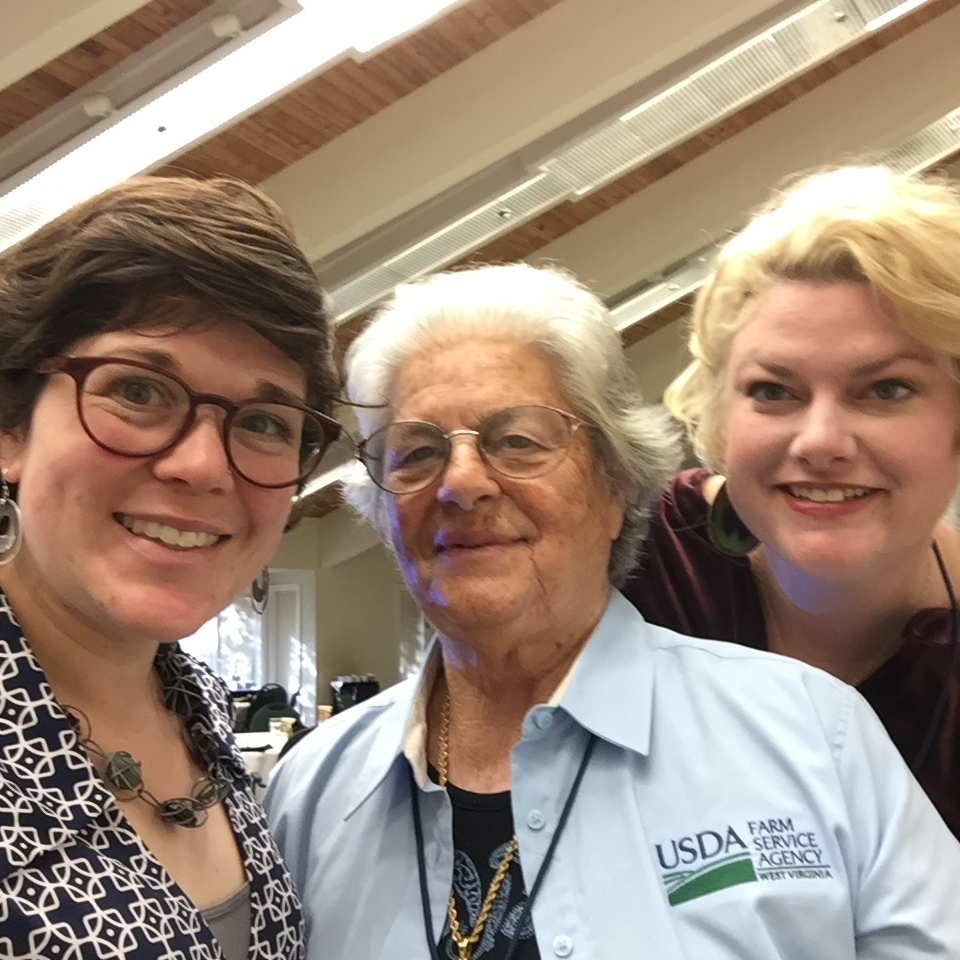 west virginia farmers at women in ag conference