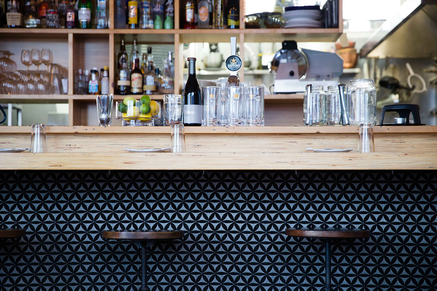 Signature Style for a Wellington Gem - We helped set the scene at WBC, one of Wellington's favourite haunts.