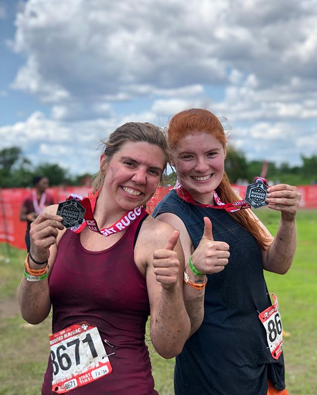 Proud to overcome at least 24/25 obstacles. #ruggedmaniac