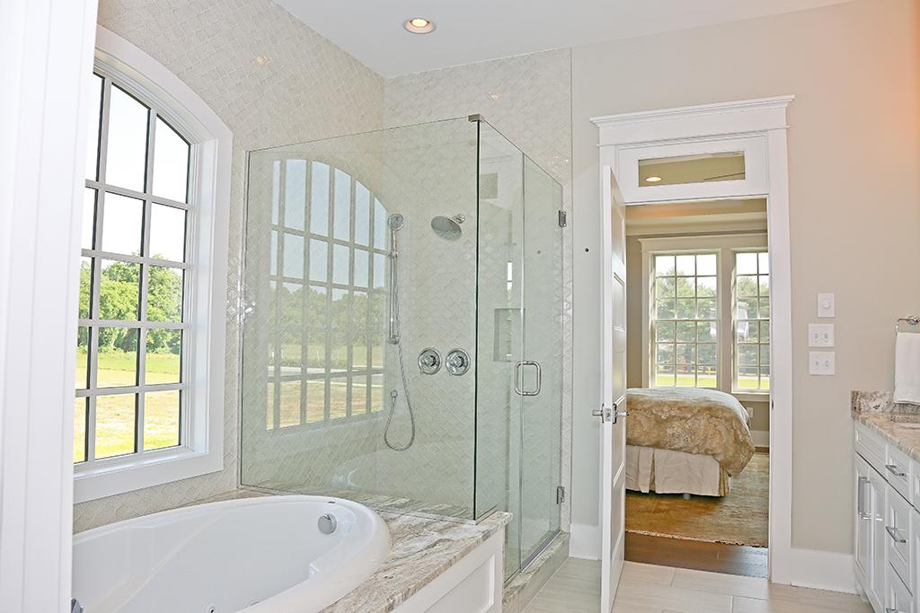 Showfield Model Home Master Shower