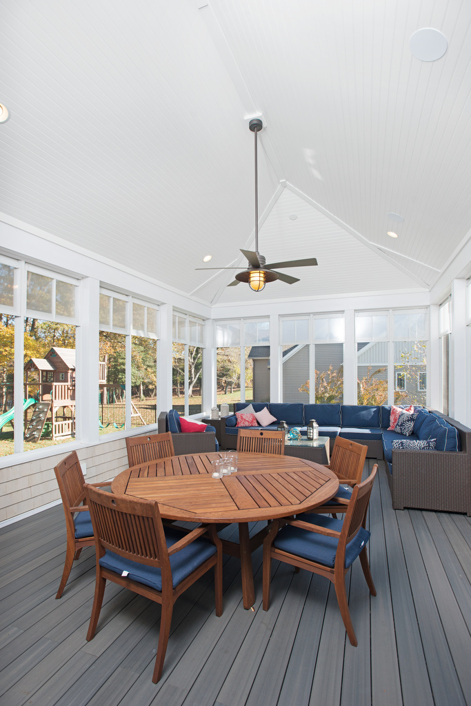 Screened Porch Cathedral Ceiling