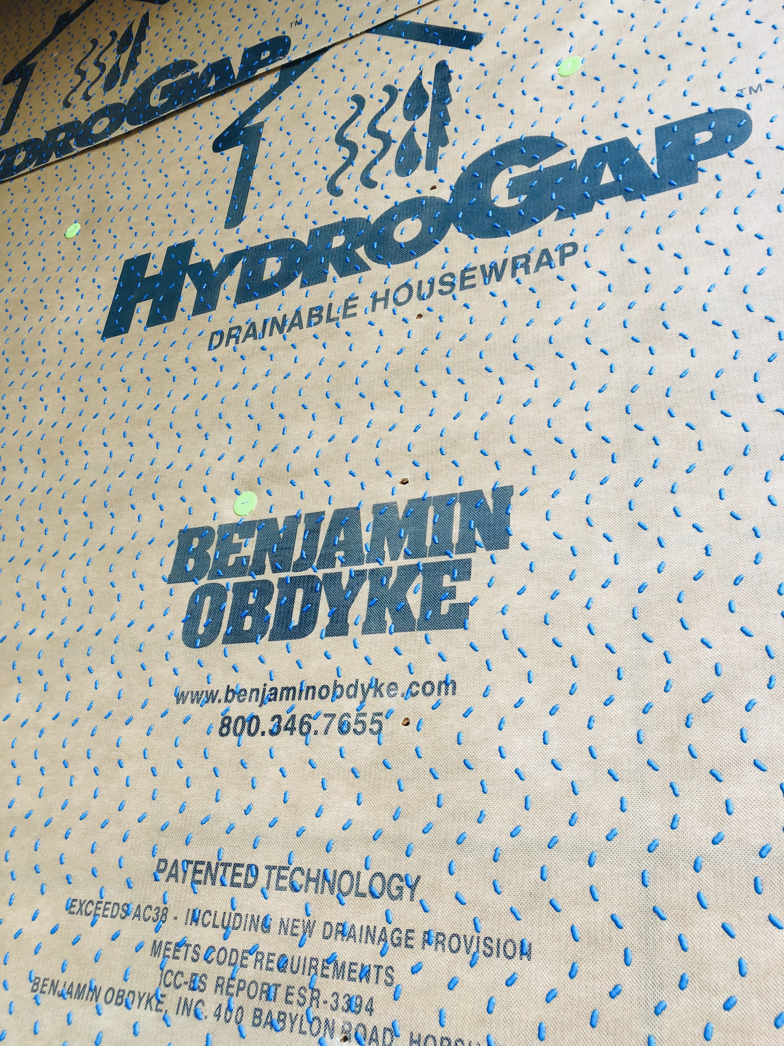 Hydrogap is Canalfront Builder's Preferred Housewrap Under Cement Siding