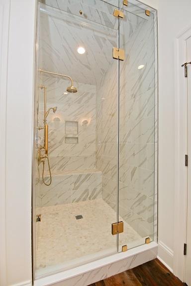 Shingle Style Shower
