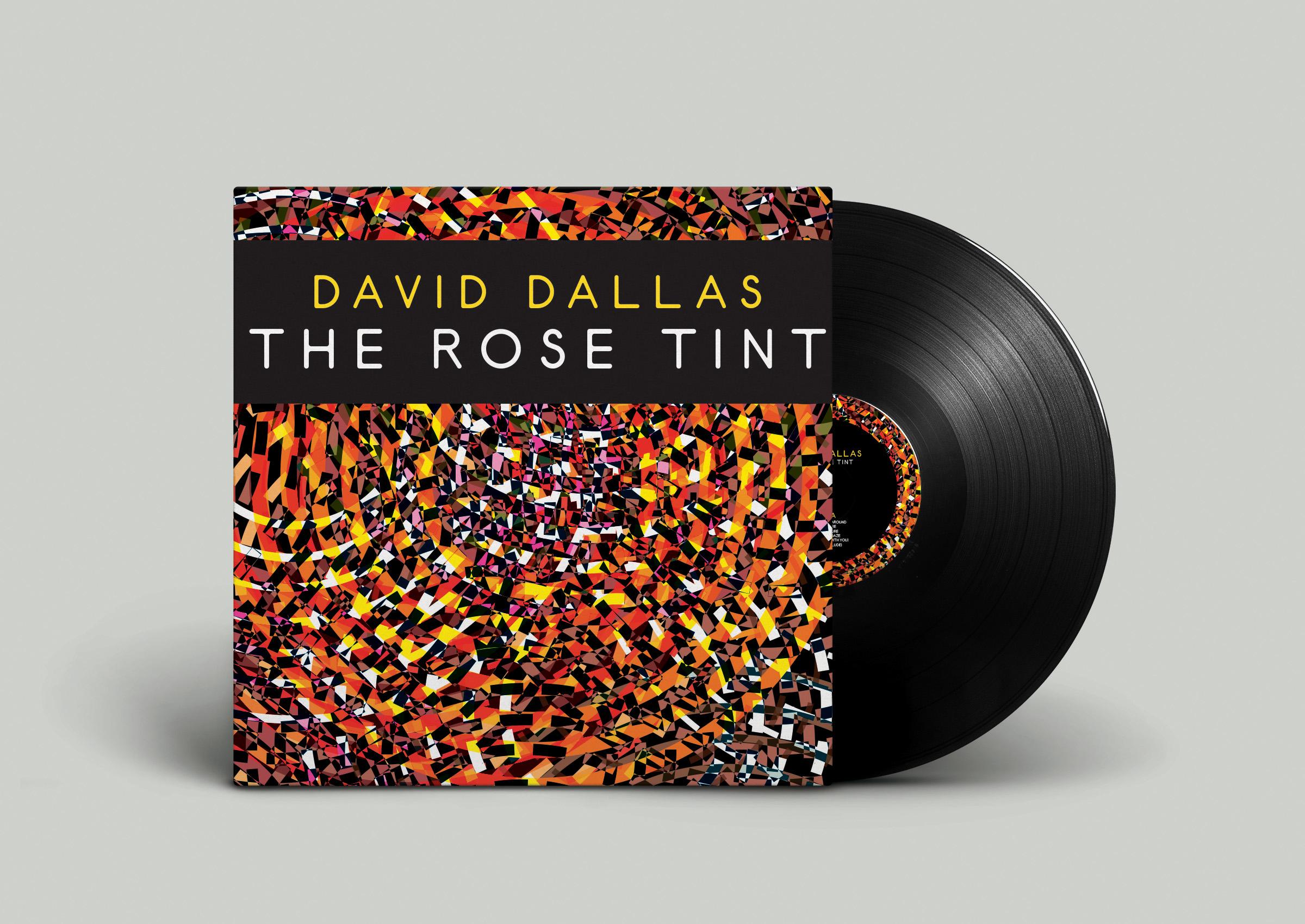 David Dallas - The Rose Tint   Vinyl cover for Dallas' The Rose Tint album.