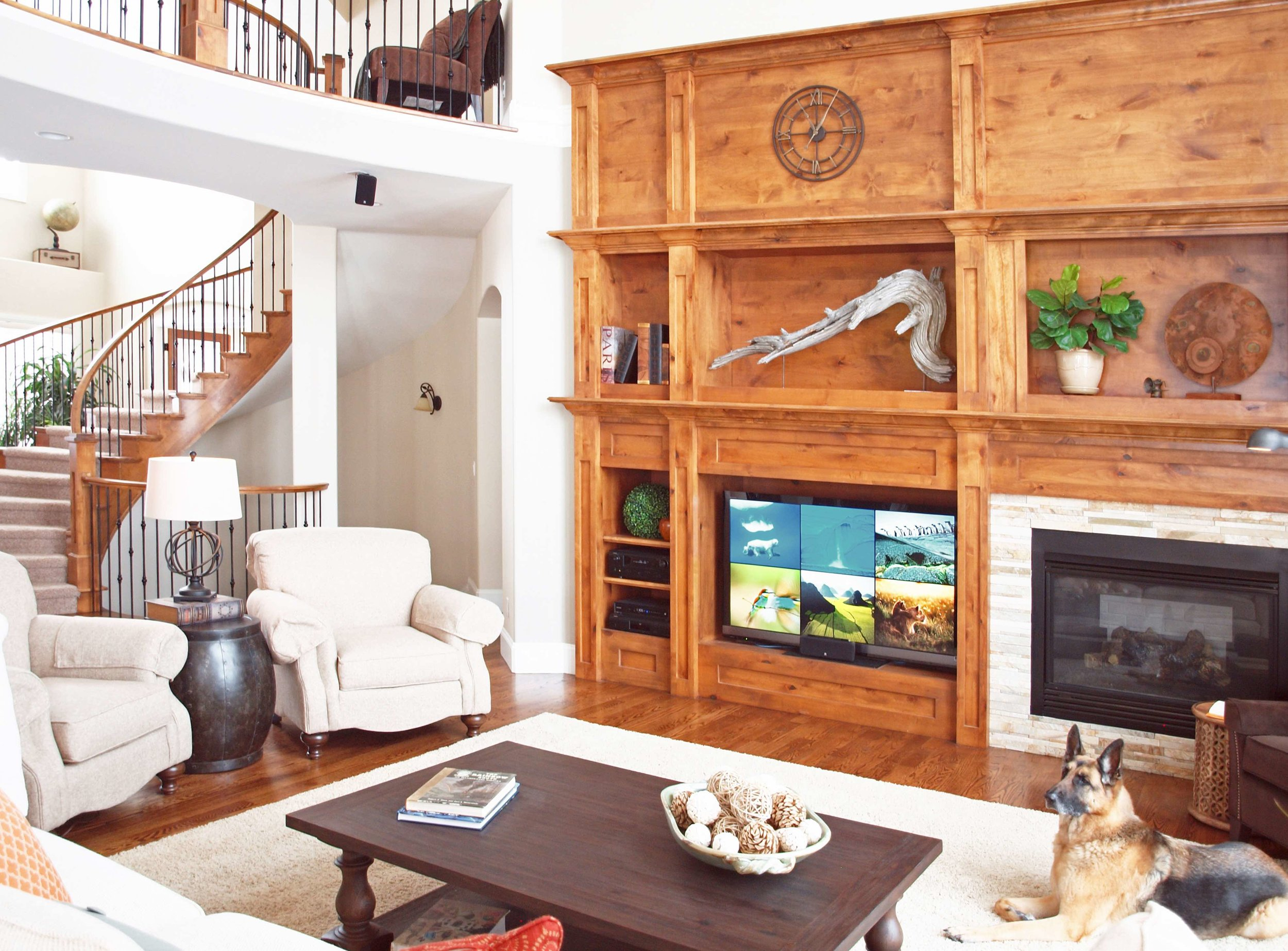 Classic living room design, Woodinville wa