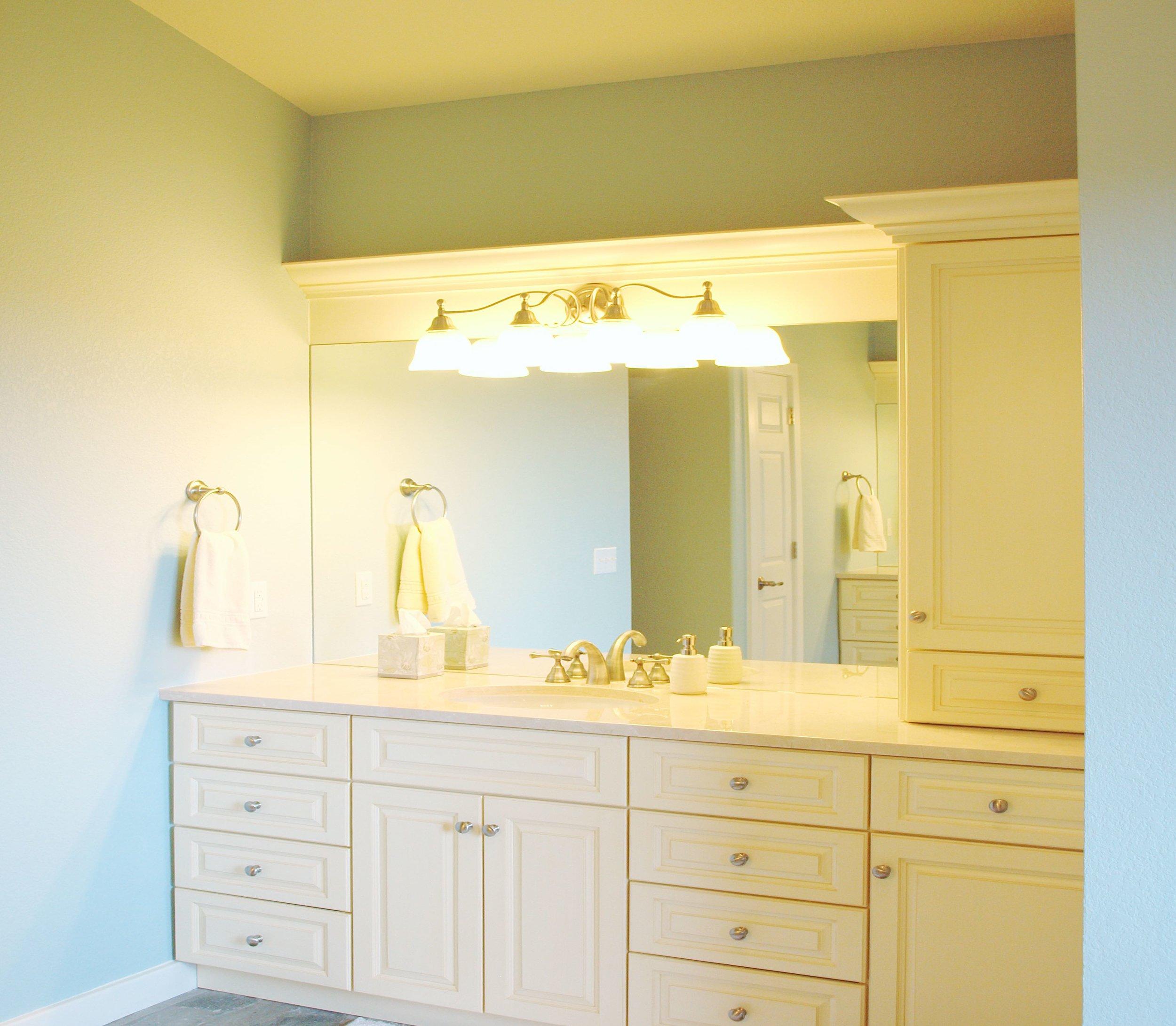 master bath vanity design