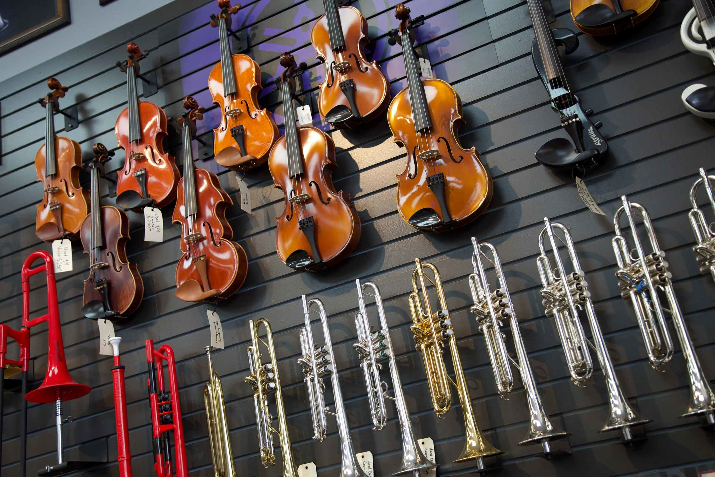 An Instrument For Everyone. - From electric guitars to flutes, trombones to hand drums, electronic and acoustic , Tigard Music has every musician, aspiring to pro covered with a wide selection of new and used instruments for sale that are of the highest quality and within a variety of budgets.If we don't have it, we will find it for you. Contact us today for more info.503-620-2844