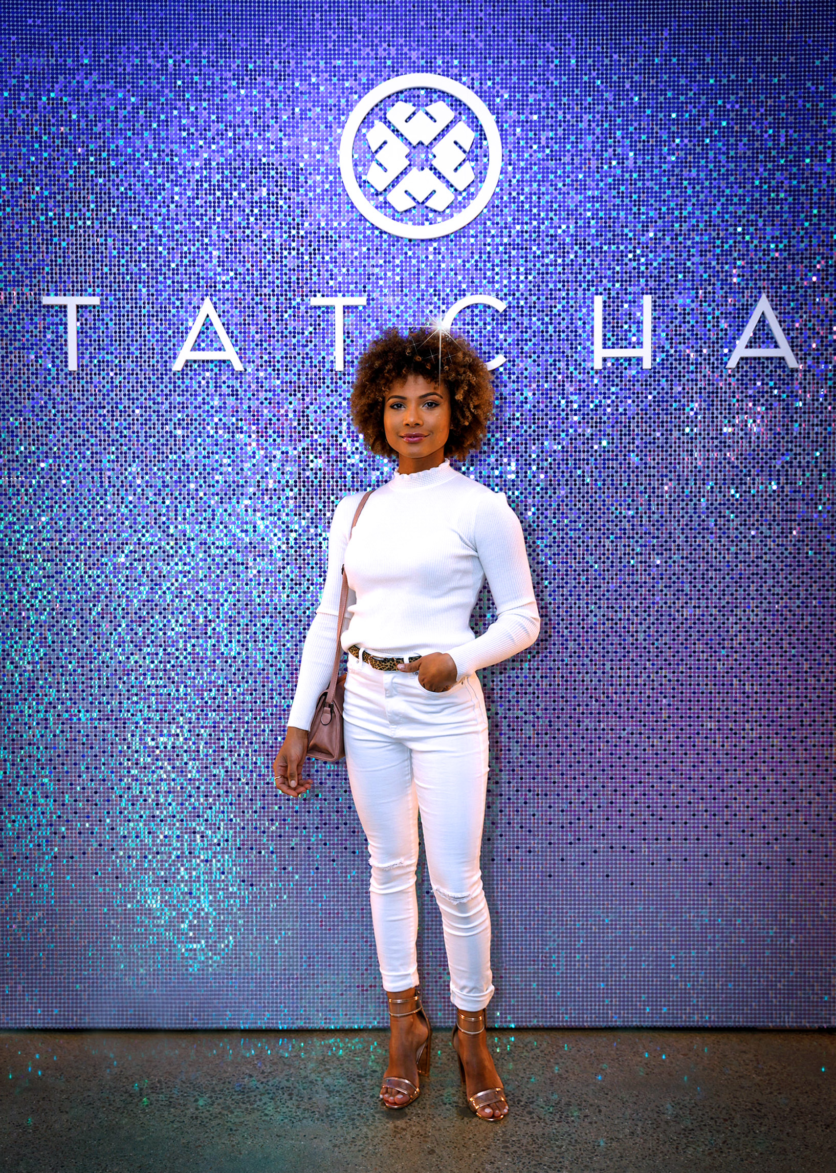 TATCHA  Photo op wall for corporate event