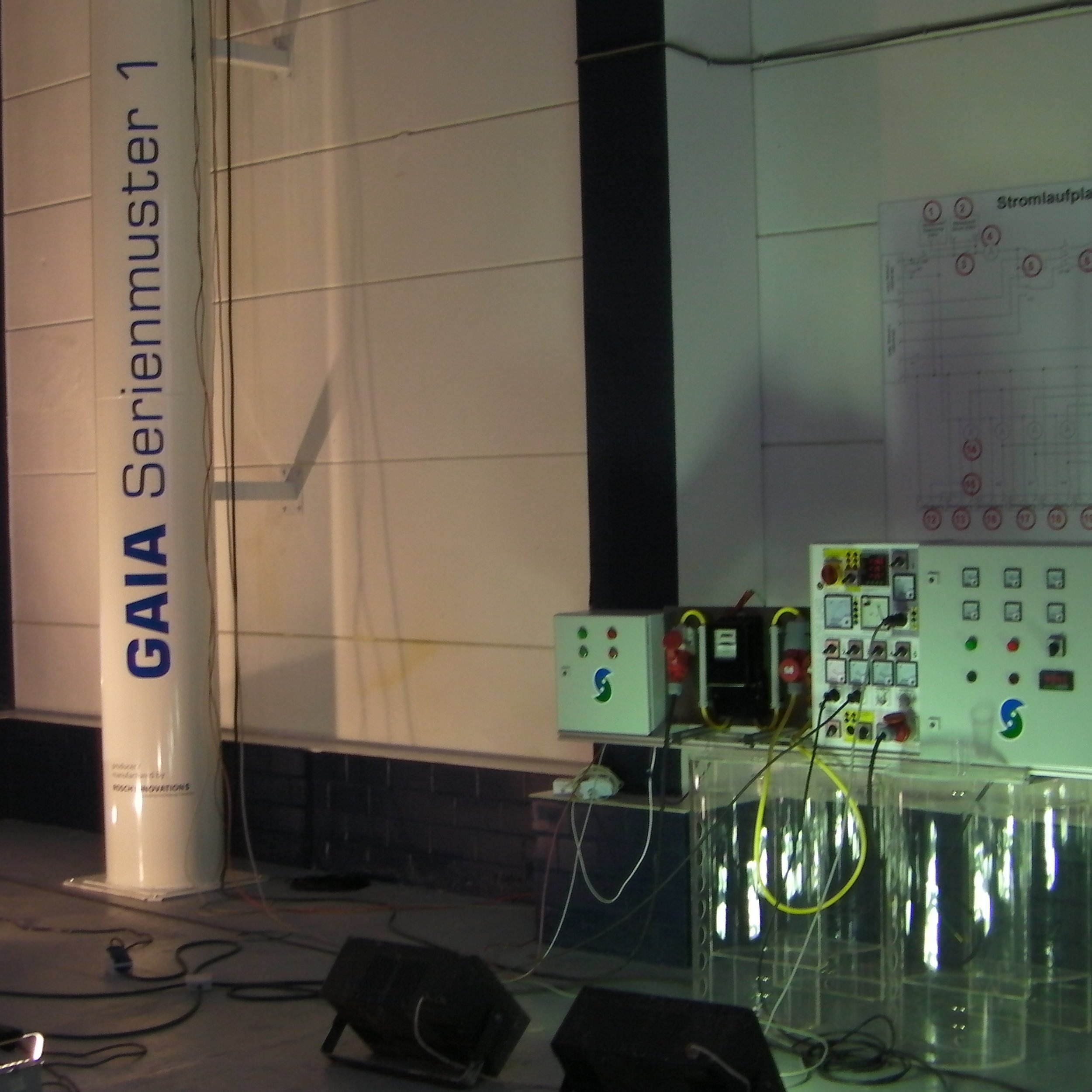 Livestream demo 5 kW April 2015, Cologne