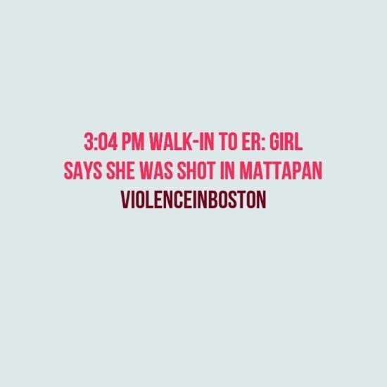 #ViolenceInBoston