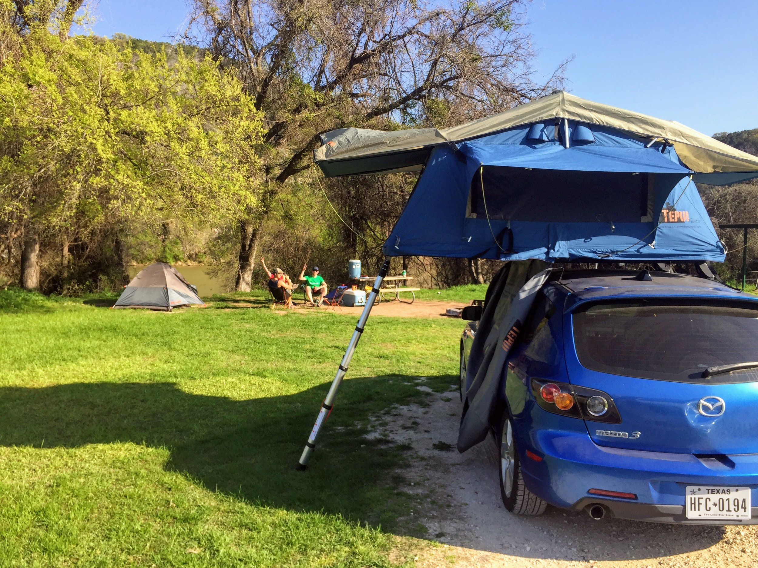 Glamping at it's finest with our Tepui Rooftop Tent. It's amazing y'all. #teamtepui