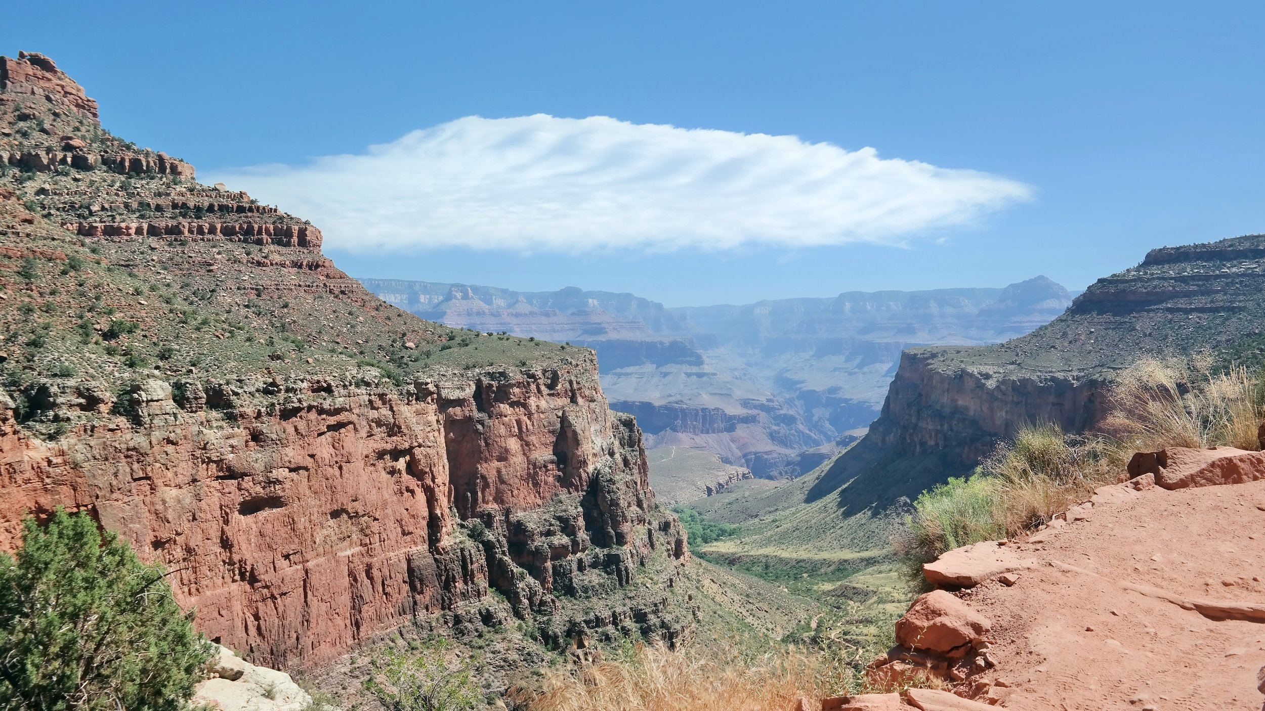 Day 3: View from Bright Angel Trail