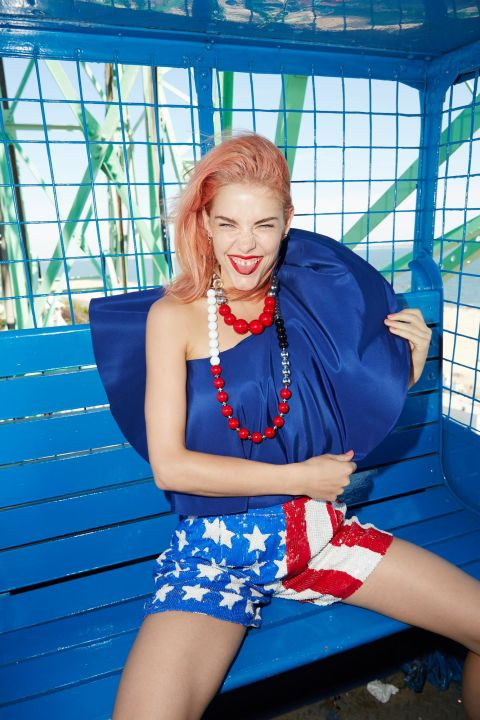 4th of July Spectacular x Elle: Styled by Shea Daspin