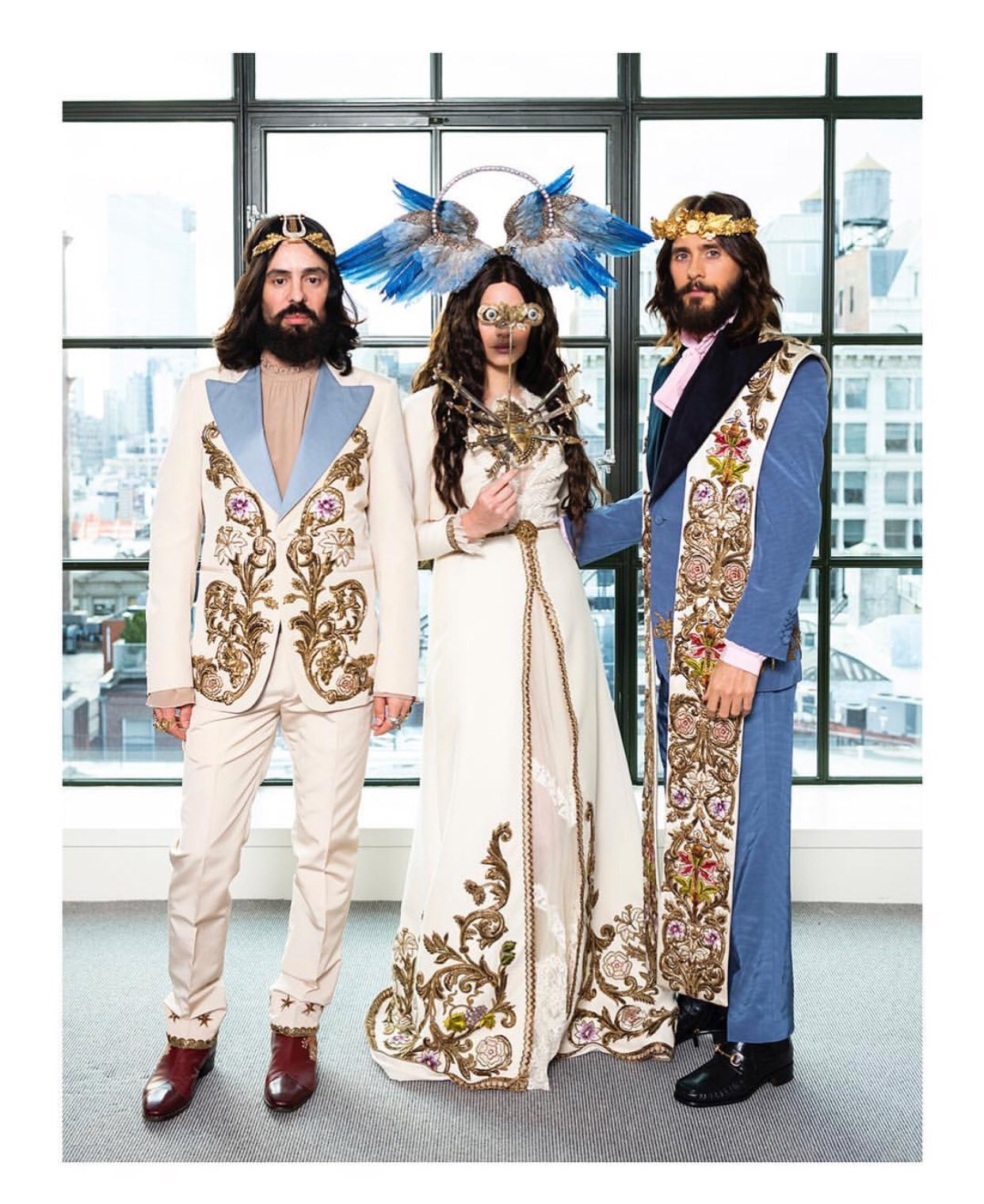 Alessandro Michele, Lana Del Rey and Jared Leto