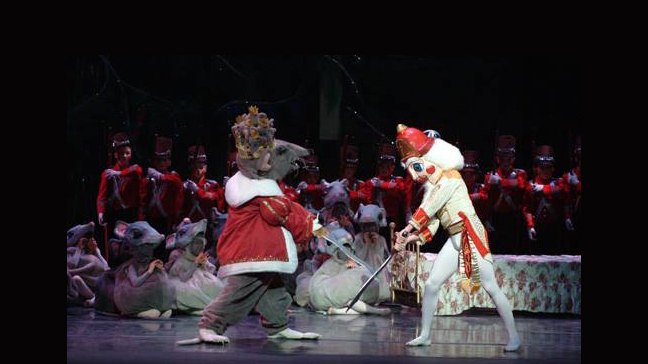 MASKS AND PROPS FOR  THE NUTCRACKER , PEORIA BALLET COMPANY