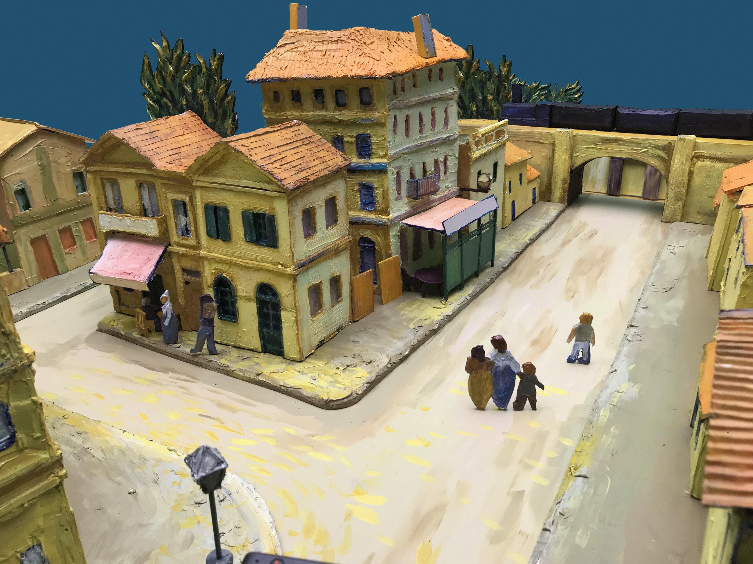 Diorama for The Van Gogh Museum Amsterdam