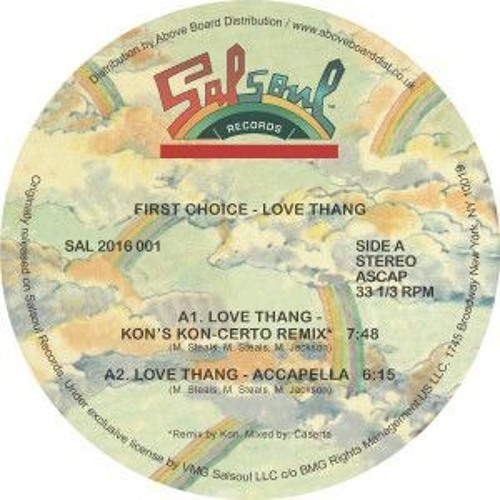 First Choice - Love Thang (Kon Remix)