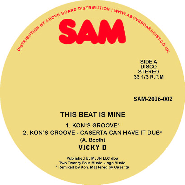 Vicky D - The Beat Is Mine (Kon Remix/Caserta's Groove)