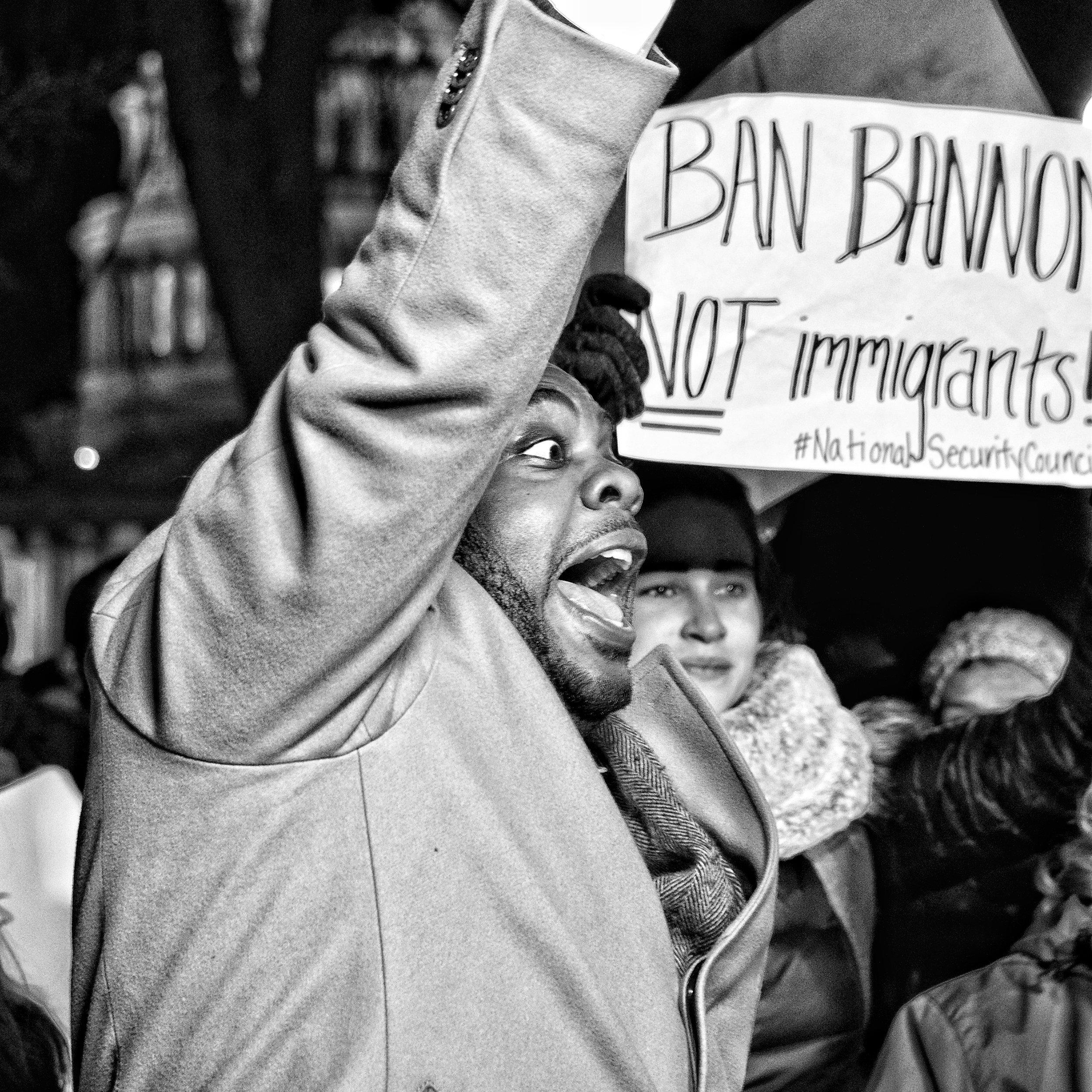 No Muslim Ban (2017, Supreme Court, Washington DC)