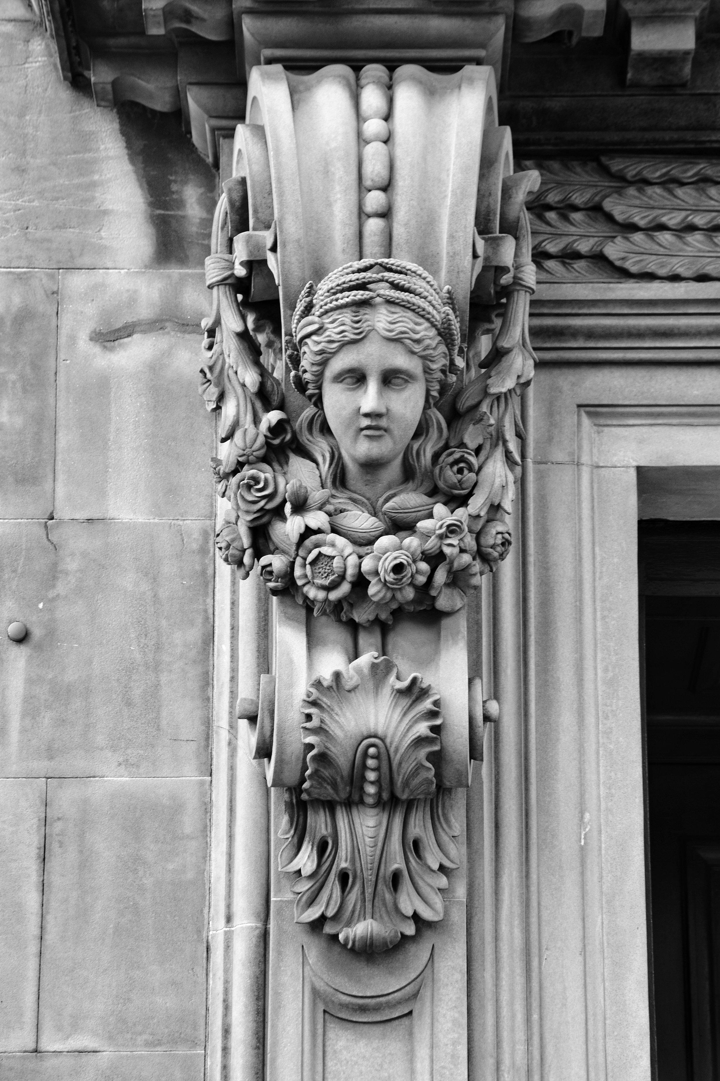 The Stone Lady (The Royal Mile, Edinburgh, Scotland)