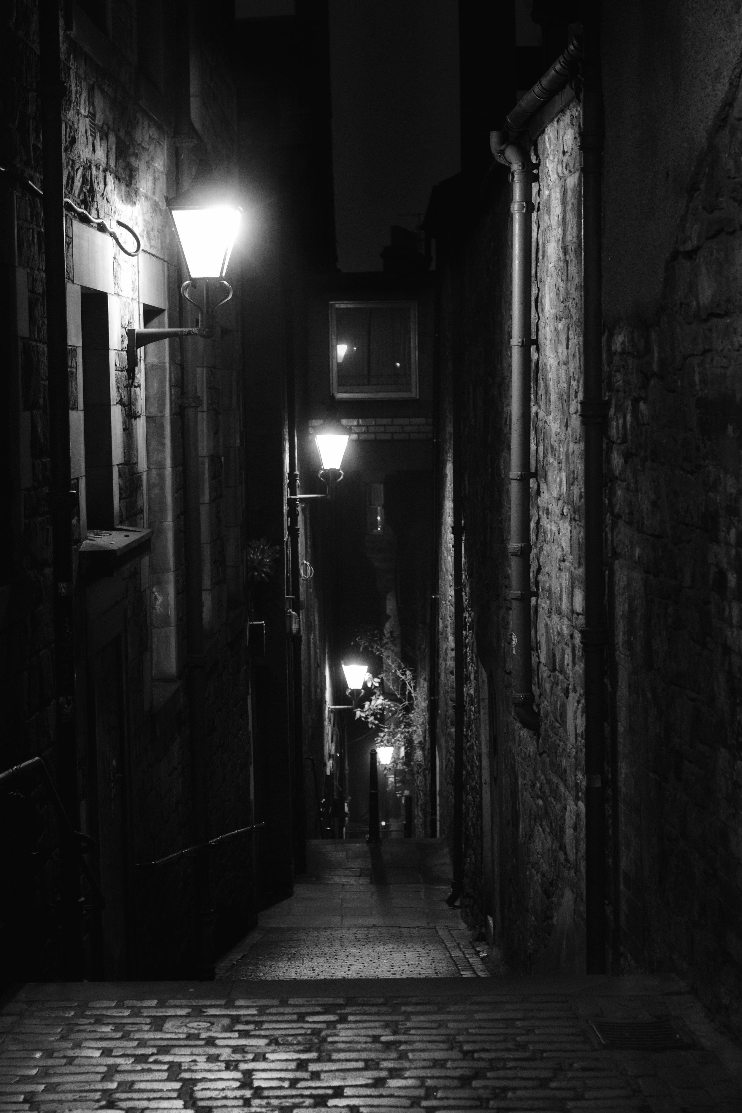 The Path Back Home (Anchor Close, Edinburgh, Scotland)