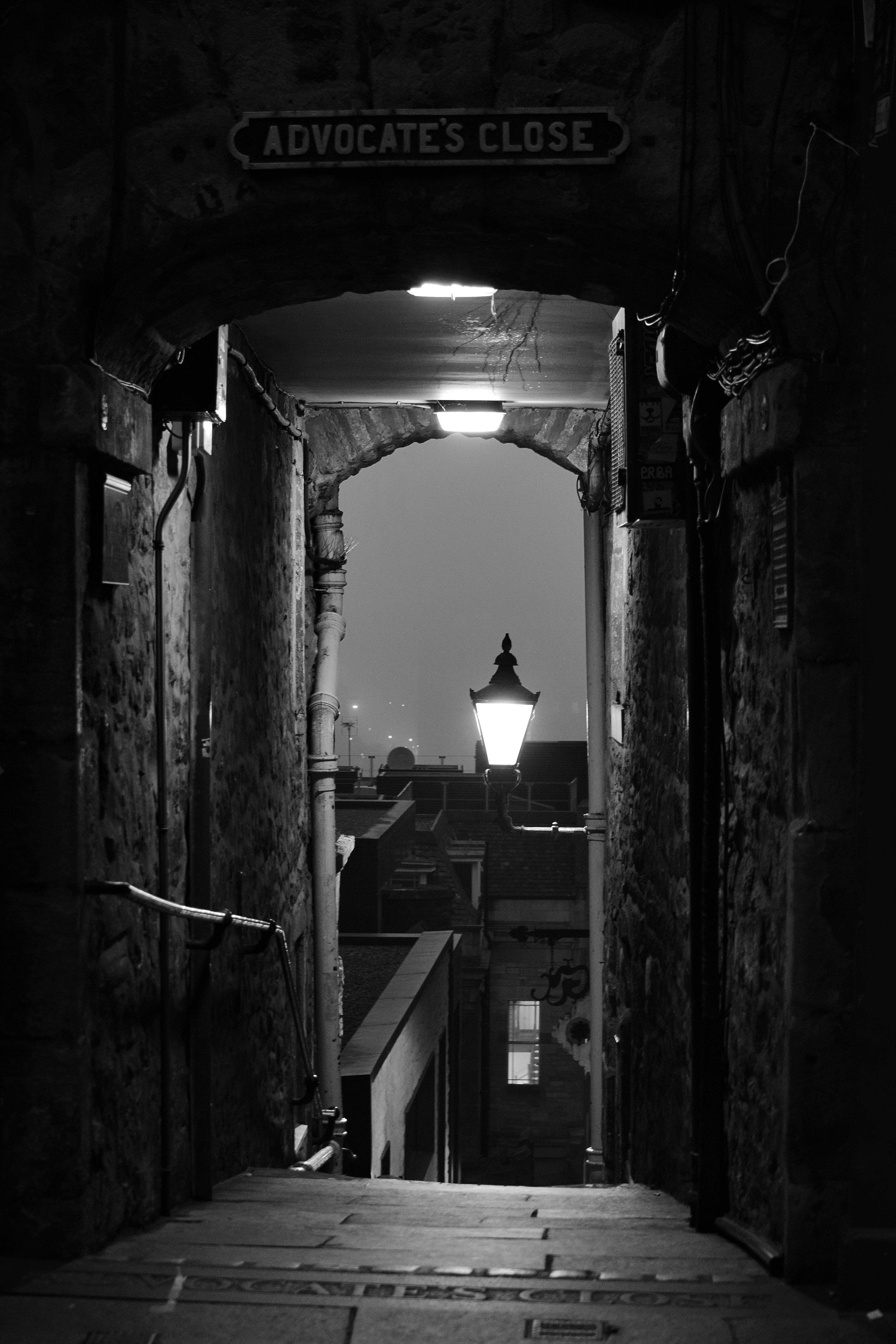 The Path Back Home (Advocate's Close, Edinburgh, Scotland)