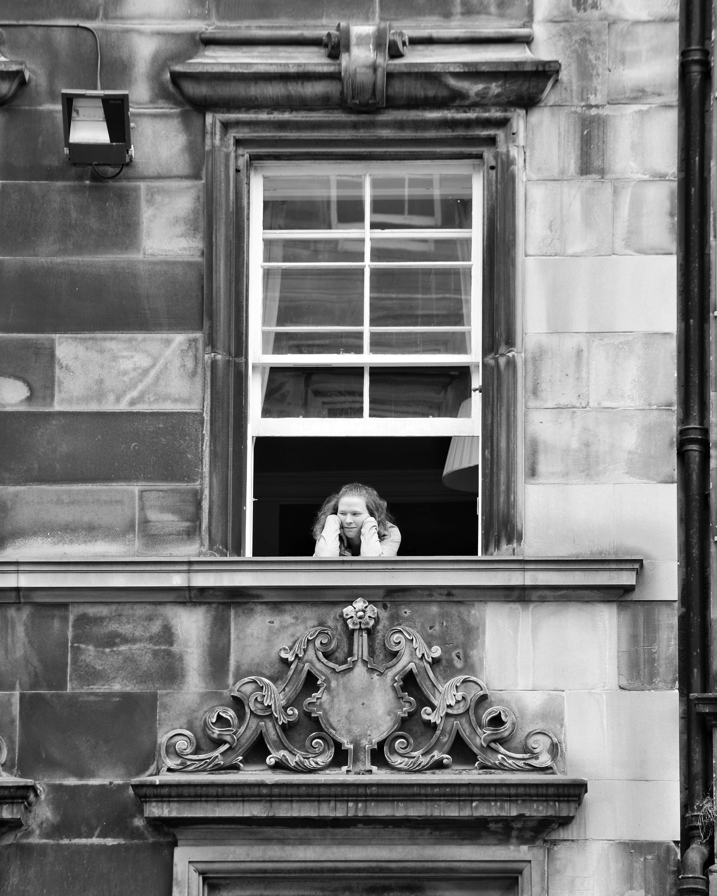 The Best Seat In The House (The Royal Mile, Edinburgh, Scotland)