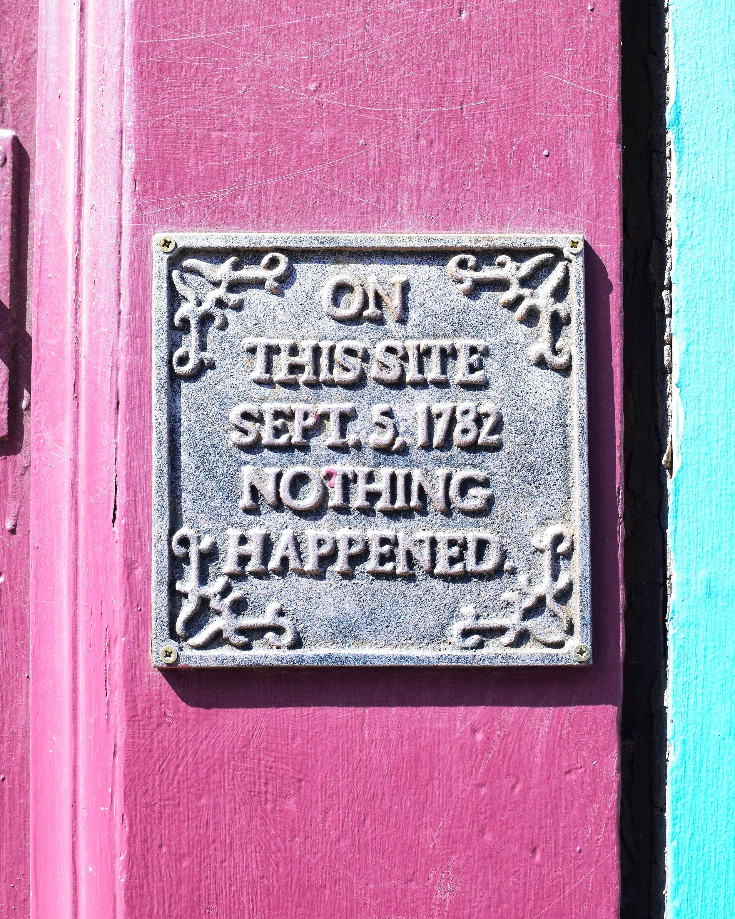 On This Site (Victoria Street, Edinburgh, Scotland)