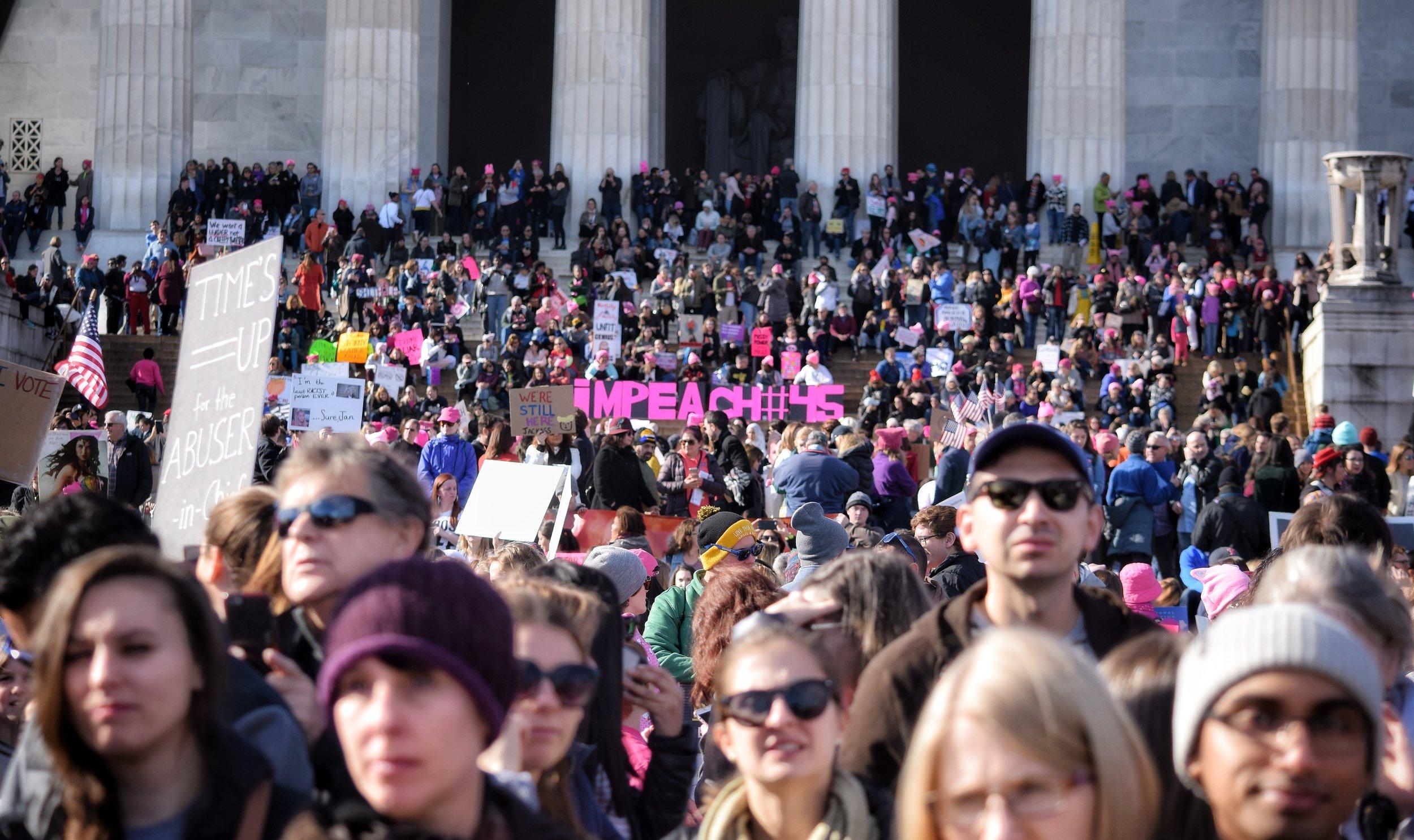 Women's March (2018, Washington DC)