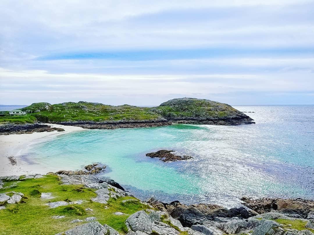 Northern 500 Coastline, Achmelvich Beach, Scotland